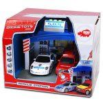 Járművek - Játékautók - Rendőrautó tűzoltó autó 2in1 fénnyel, hanggal