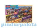 Fa puzzle - vonatok kirakó TS-Shure