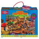 Puzzle - Egyszerű - T.S. Shure építkezés jumbo puzzle