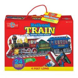 Gyerek Puzzle - Kirakósok - Jumbo puzzle vonat TS-Shure