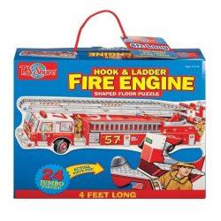Puzzle - Egyszerű - T.S. Shure tűzoltóautó jumbo