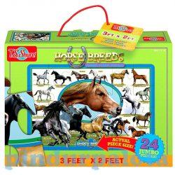 Gyerek Puzzle - Kirakósok - Jumbo puzzle lovak TS-Shure