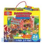 Puzzle - Egyszerű - T.S. Shure farm óriáspuzzle