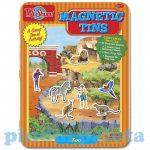 Készségfejlesztő - Ügyességi játék - T.S. shure mágneses kirakó állatkert
