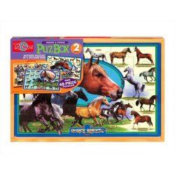 Fa puzzle - lovak kirakó TS-Shure