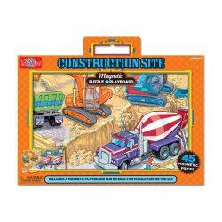 Gyerek Puzzle - Kirakósok - Mágneses puzzle munkagépek TS-Shure