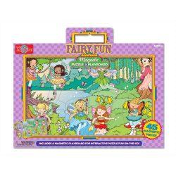 Gyerek Puzzle - Kirakósok - Mágneses puzzle tündérkert TS-Shure