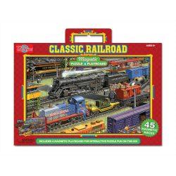 Gyerek Puzzle - Kirakósok - Mágneses puzzle vonatok TS-Shure