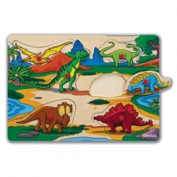 Fa puzzle - Kirakós játékok - Eichhorn Fa puzzle 6 féle