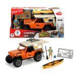Játék autók - Kemping szett Jeep autó Dickie