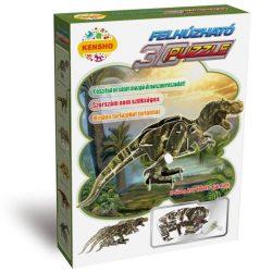 3 D-s puzzle - 3D felhúzható puzzle tyronnosaurus rex