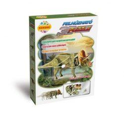 3 D-s puzzle - 3D felhúzható puzzletriceratops