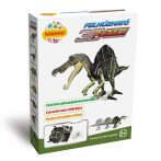 3 D-s puzzle - Felhúzható puzzle, spinosaurus