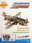 3 D-s puzzle - Felhúzható puzzle, vadászgép