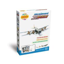 Játék vadászrepülők - 3d felhúzható puzzle bombázó