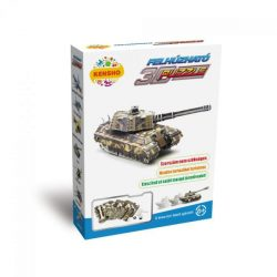 3D puzzle - Felhúzható tank puzzle