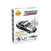 3 D-s puzzle - 3D felhúzható puzzle rendőrautó