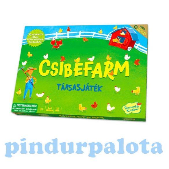 Társasjátékok gyerekeknek - Csibefarm kooperatív társasjáték