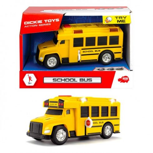 Játékautók - Dickie Toys iskolabusz hangot adó