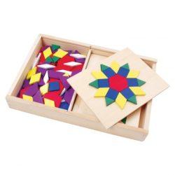Ügyességi játékok - Mozaik szett (fa)