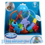 Fejlesztő játékok - Bébi játékok - Felfedező labda bébi játék rágóka