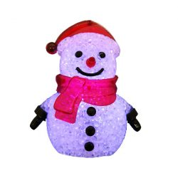 Hóember világítós díszfigura
