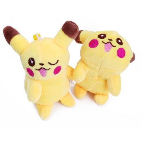 Plüss mesefigurák - Pokémon Pikachu plüss kulcstartó