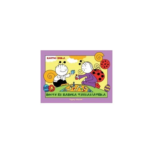 Mesekönyv - Bogyó és Babóca társasjátéka - 2-5 éveseknek - Pagony
