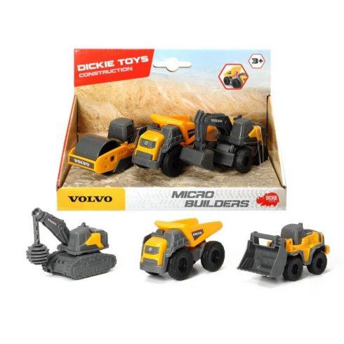 Játékautók - Játék munkagépek - Volvo Micro Builders Dickie Simba