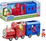 Mese figurák - Mese szereplők - Peppa Malac Nyuszi néni vonata 2 figurával