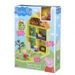 Lányos játékok - Peppa nagy házikó kerttel