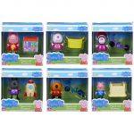 Mese figurák - Mese szereplők - Peppa figura készlet kiegészítőkkel