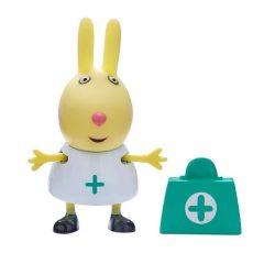 Mese figurák - Mese szereplők - Peppa figura Rebeka nyuszi mini figura orvosi táskával