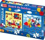 Gyerek puzzle - Keller&Mayer - Bogyó és Babóca 2in1