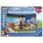 Mancs Őrjáratos játékok - Mancs Őrjárat 2x12 darabos puzzle