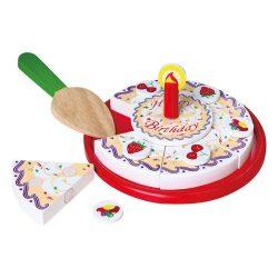 Szerepjátékok - Játékkonyhák - Torta papír dobozban