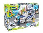 Autós szerelős játékok - Revell JUNIOR KIT Rendőrautó