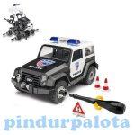 Autós szerelős játékok - Revell JUNIOR KIT Rendőrségi terepjáró