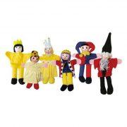 Játékbabák - Ujjbábok - Királyos ujjbábkészlet