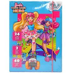 Foglalkoztató könyvek, füzetek - Görkoris Barbie foglalkoztató készlet