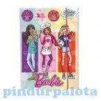 Foglalkoztató könyvek, füzetek - Barbie-s foglalkoztató készlet