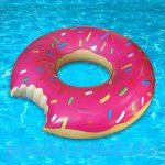 Fürdős Játékok - Strand játékok - Felfújható óriás fánk