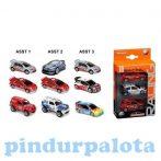 Járművek - Játék autók fiúknak - Majorette Racing Cars 3 db