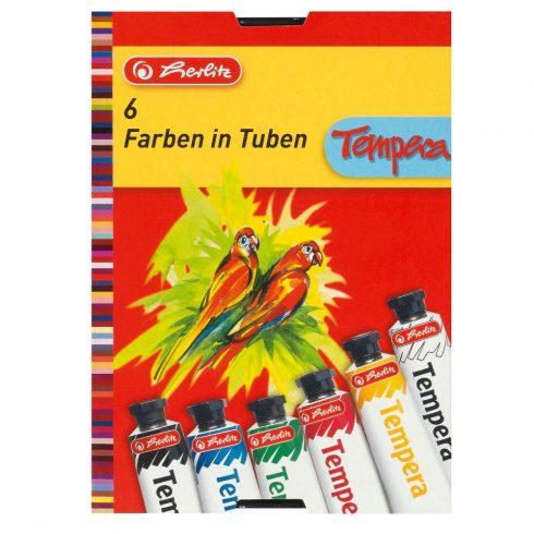 Festékek - Temperák - Herlitz 6 színű tempera csomag