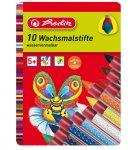 Írószerek-iskolaszerek - Íróeszközök - Herlitz zsírkréta fémdobozos 10db