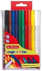 Írószerek - Iskolaszerek - Íróeszközök - Herlitz dupla magic filctoll