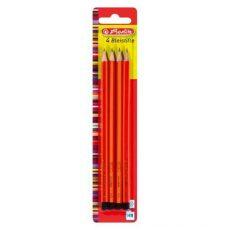 Írószerek - Ceruzák - Herlitz grafit készlet 4 hb