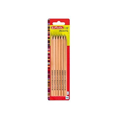 Herlitz - Herlitz ceruza 12 HB naturfa skiz