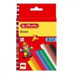 Kreativitás és szem-kéz koordináció - Gyurmák - Herlitz gyurmaszett 8 szín
