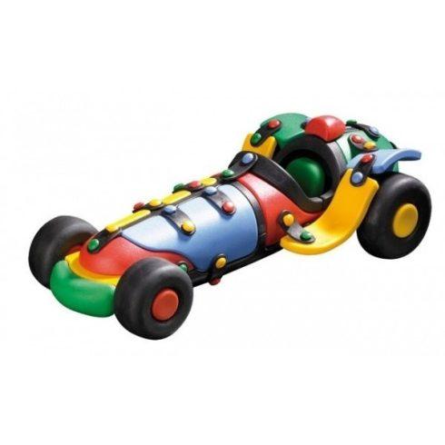 Műanyag járművek - Készségfejlesztő - Versenyautó építőjáték, Mic-o-mic